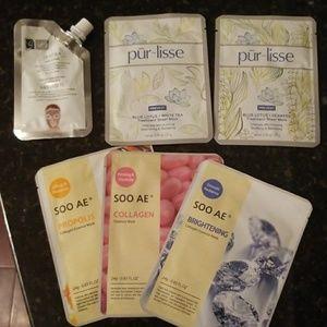 Skin care mask lot Purlisse, Soo AE, Global Beauty